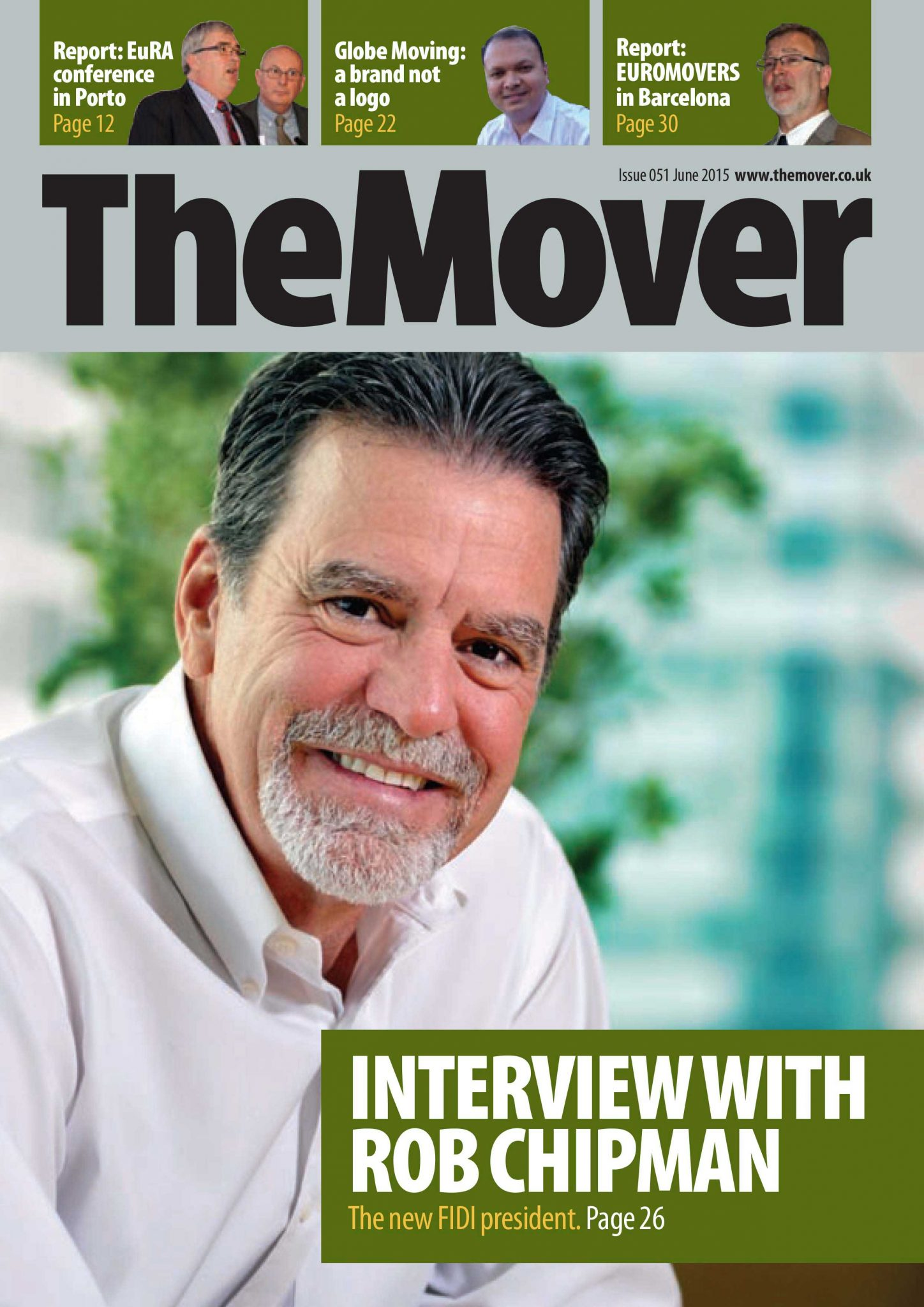 The Mover Magazine June 2015 Cover FIDI president Rob Chipman Interview