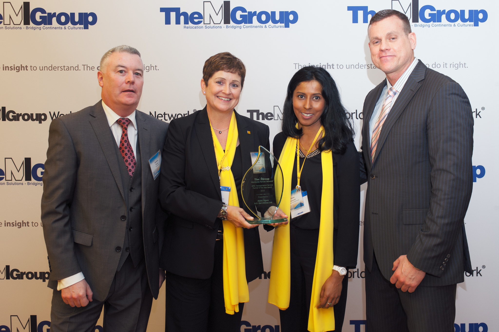 Asian Tigers China wins 2015 APAC Transportation Service Partner of the Year Award from TheMIGroup
