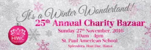 Hanoi International Women Club 25th Annual Charity Bazaar