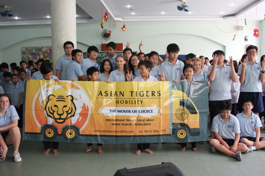 Anh Linh Love School Food Drive 2017