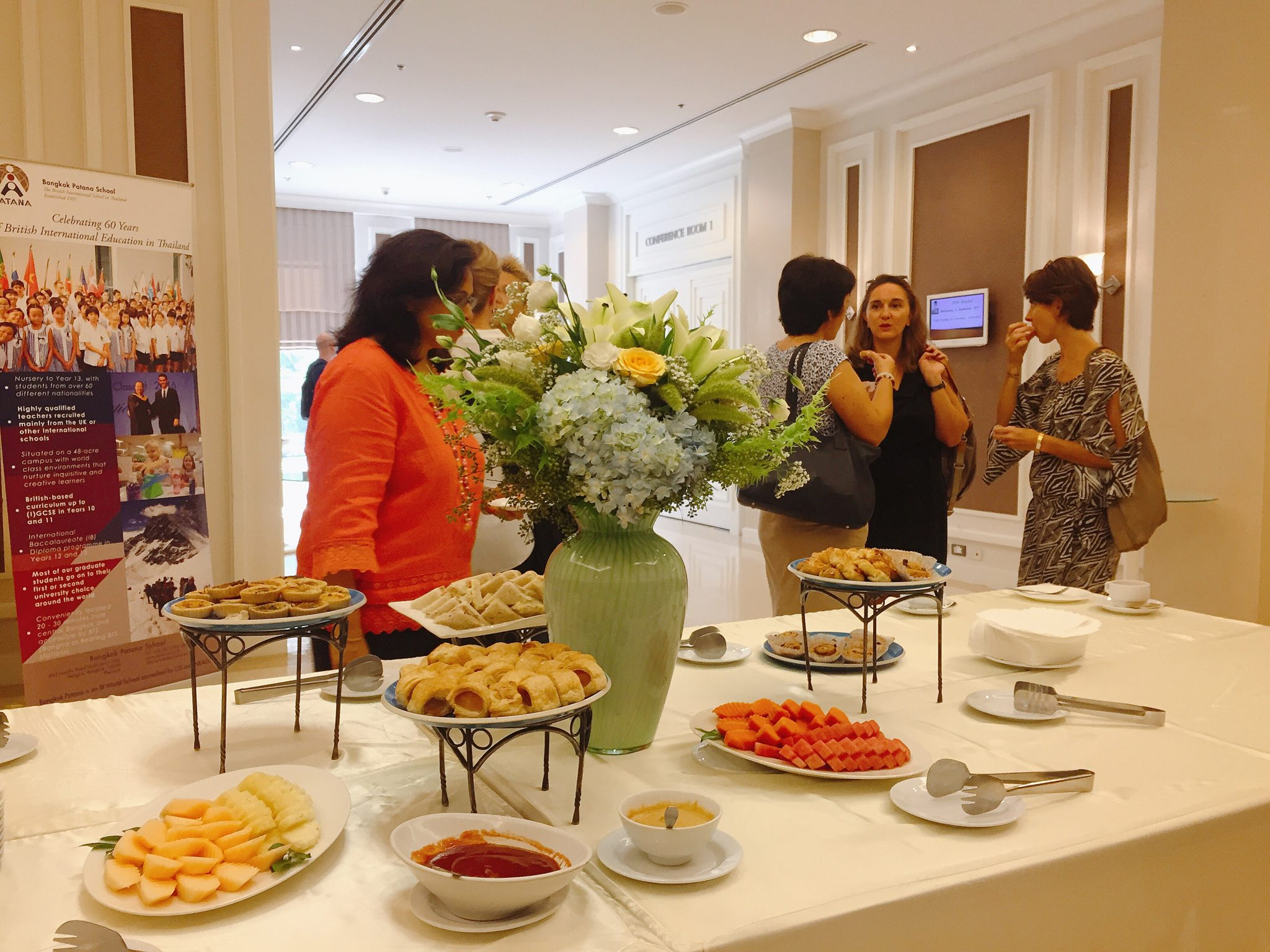 coffee morning for Newcomers to Thailand