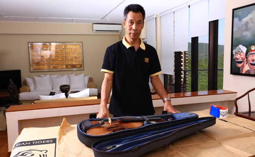 How to pack violin