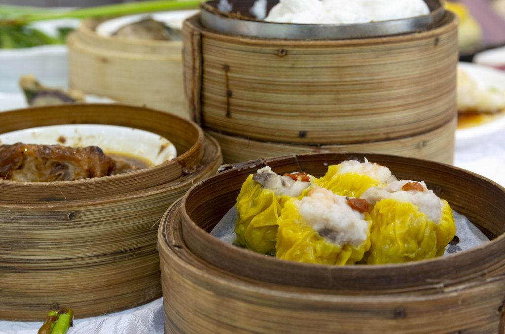 Dim sum for new arrivals in HK