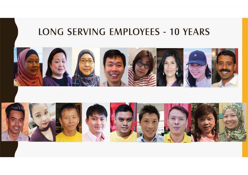 Long Serving Employees -10
