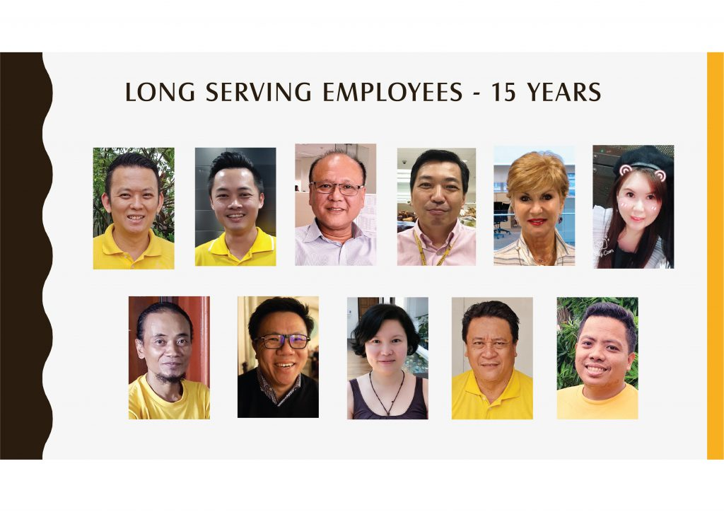 Long Serving Employees -15