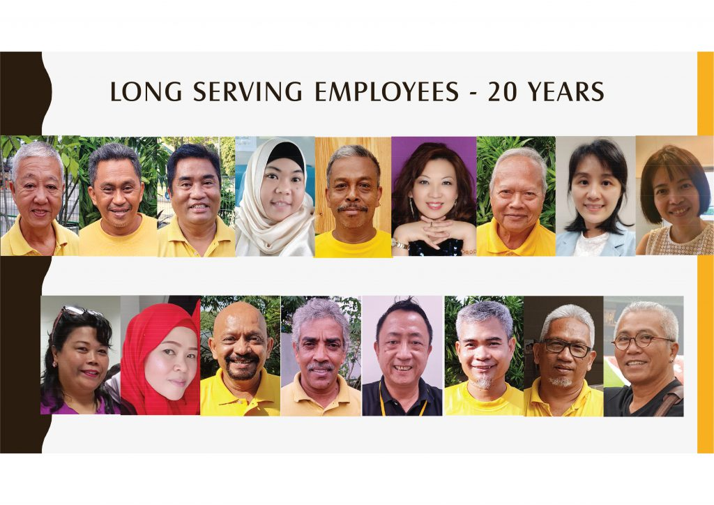 Long Serving Employees - 20