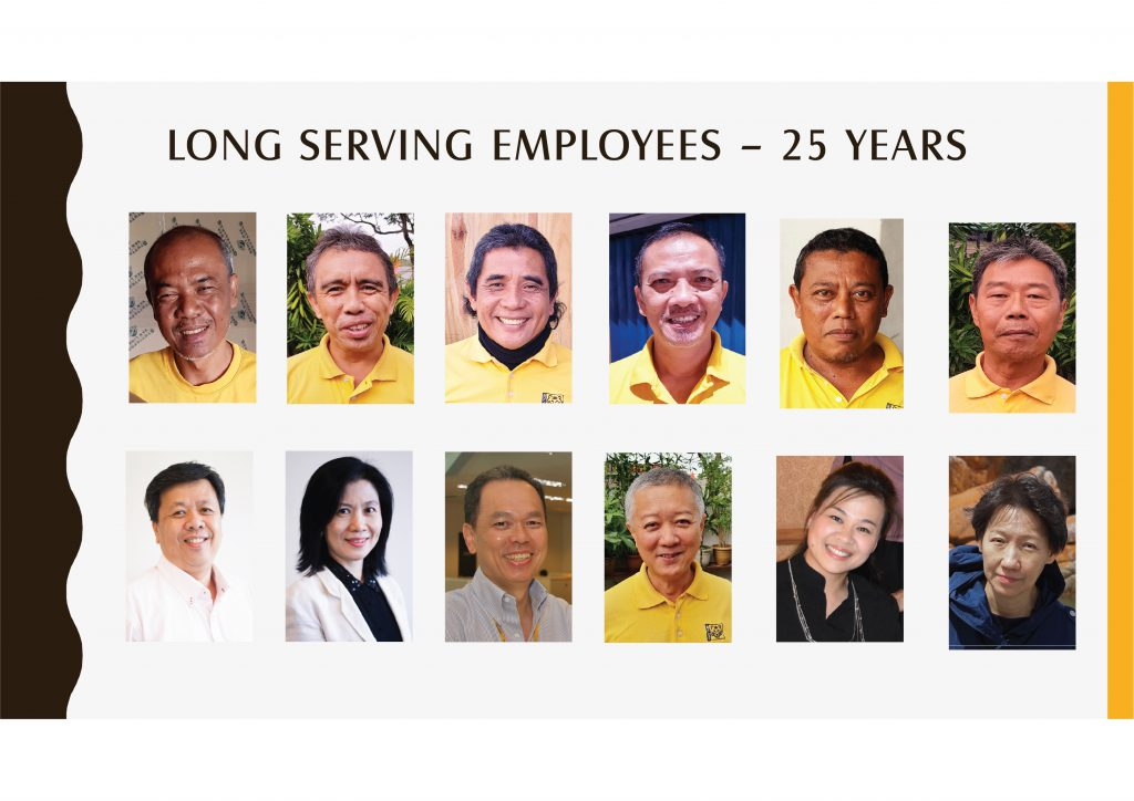 Long Serving Employees - 25