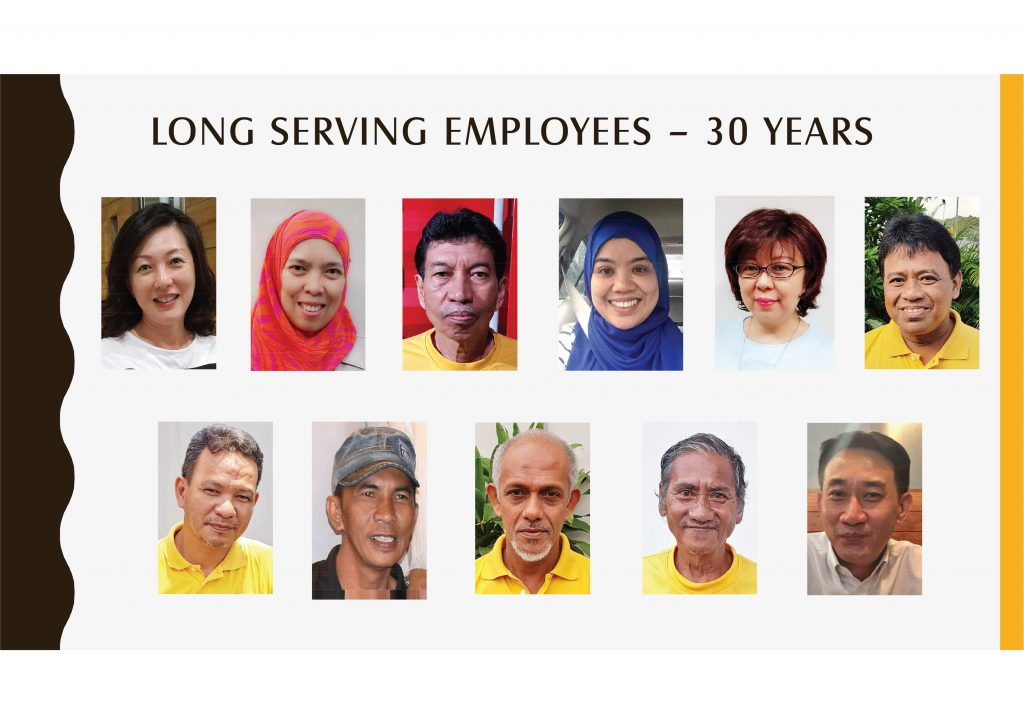 Long Serving Employees -30
