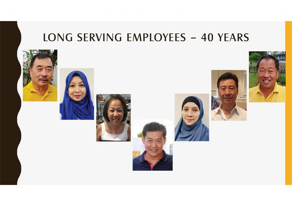 Long Serving Employees - 40