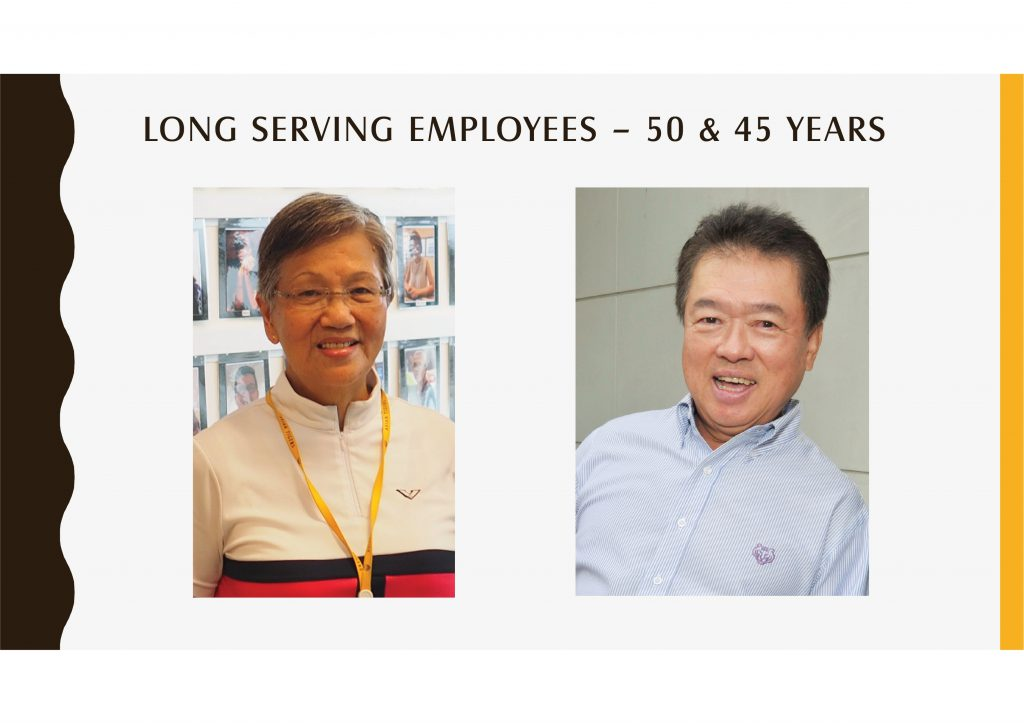 Long Serving Employees -50 & 45